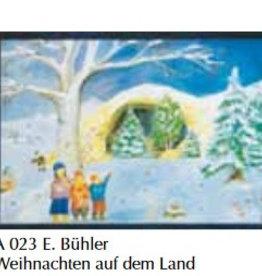 Adventkalender Kerstmis op het land A023