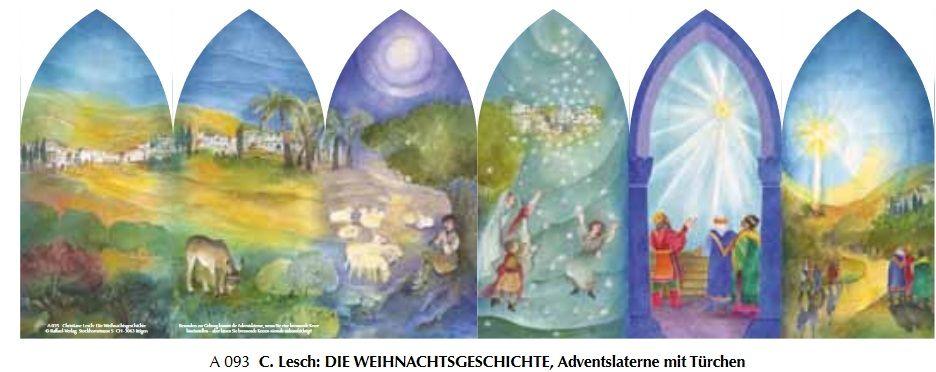 Adventkalender Kerstverhaal, lantaren A093