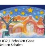 Adventkalender Bij de schapen A032