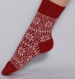 Hirsch Natur Hirsch wollen sokken Stermotief rood Hi 030*36