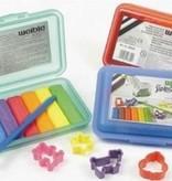 Weible Kneedwas Klikbox Mini Rol 6 kleuren + toebehoren (8342)