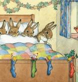 Molly Brett, Five Rabbits Tucked Up Warm PCE 082