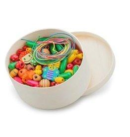 Houten Kralen in Box 100 gram NCT 10570