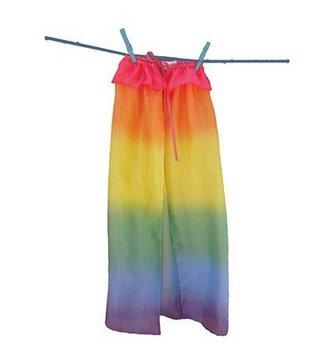 Sarah's Silks zijden speelcape - regenboog (5311)