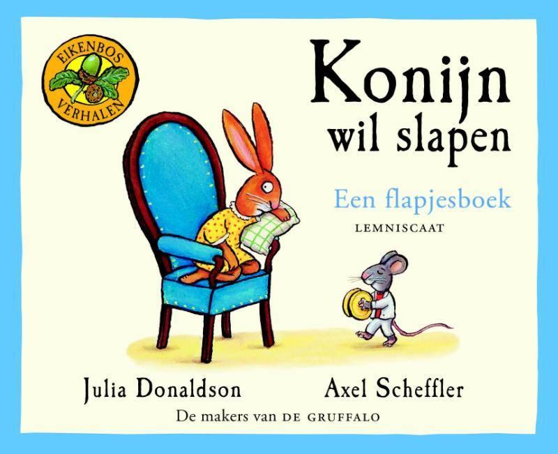 Julia Donaldson, Konijn wil slapen