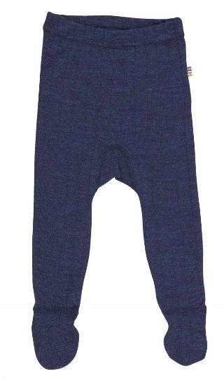 JOHA Joha Baby-Legging met voeten wol/zijde 25518-185