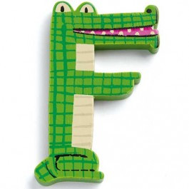 Djeco houten Dieren-letters