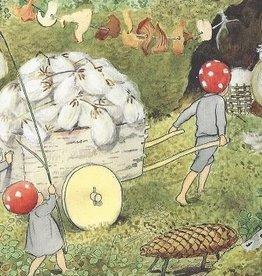 Elsa Beskow, Kabouterkinderen: De wagen met wol 16543