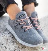 Giesswein Giesswein Merino Wool Runners Women grijs 017