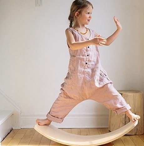 Kinderfeets Balance Board Naturel