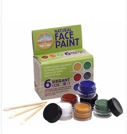 Natural Face Paint Kit 6 kleuren