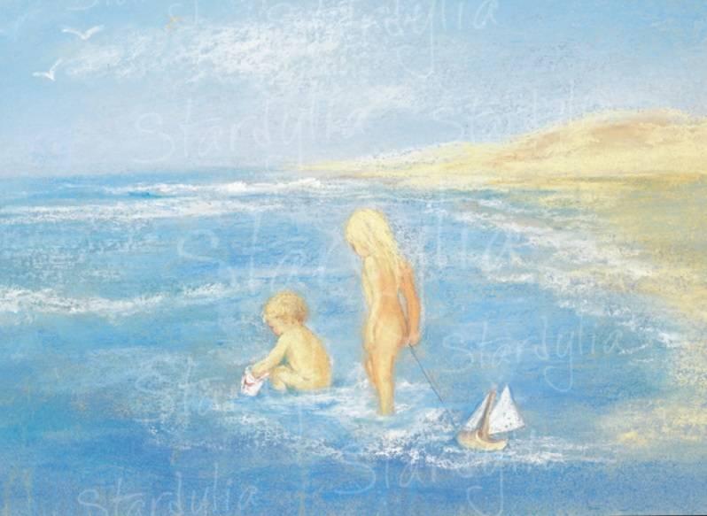 Marjan van Zeyl, In zee   (324)