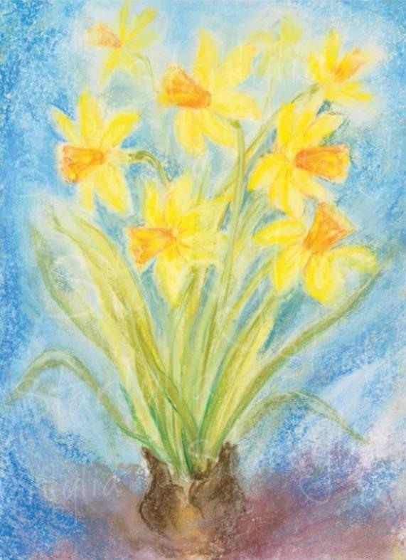 Marjan van Zeyl, Gele Narcissen  (418)