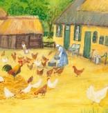 Marjan van Zeyl, Kippen op het erf (462)