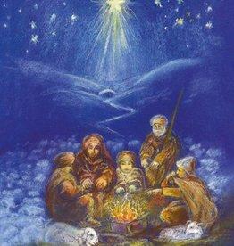 Marjan van Zeyl, Schaapherders in de koude winternacht (469)