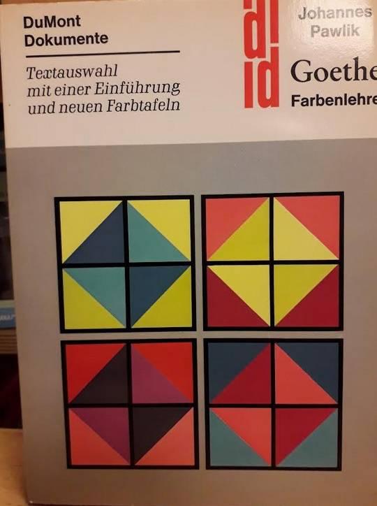 Johannes Pawlik, Goethe Farbenlehre