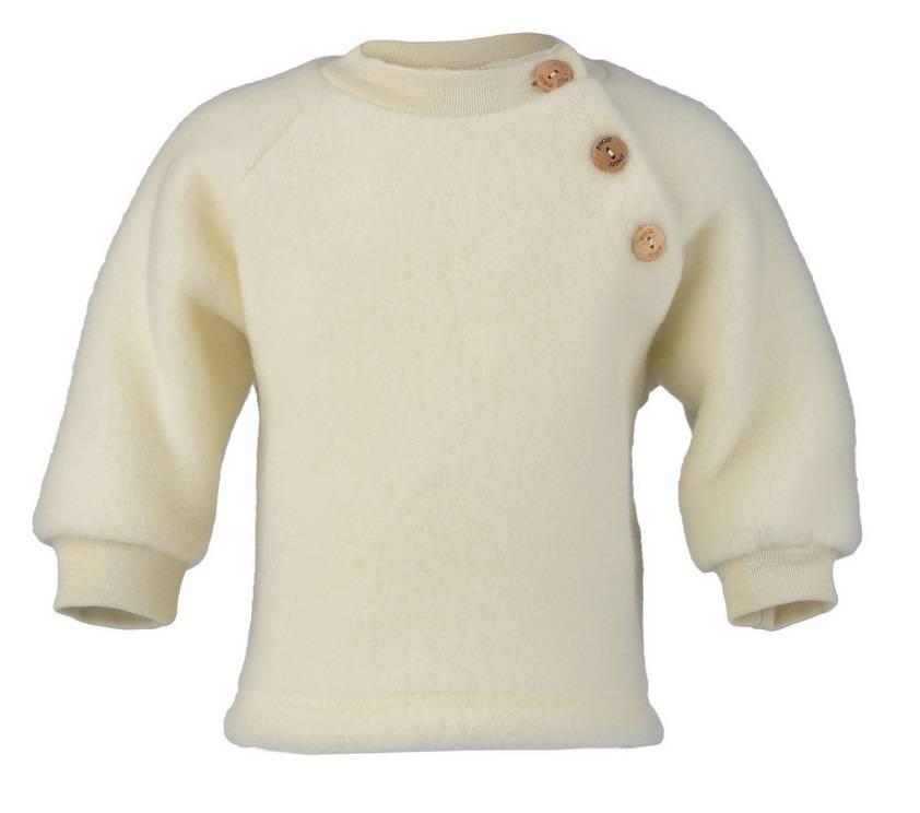 Engel Natur Raglan Sweater wol met knoopjes Engel 57 5410