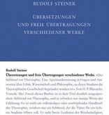 Rudolf Steiner, GA 41b Übersetzungen und freie Übertragungenverschiedener Werke