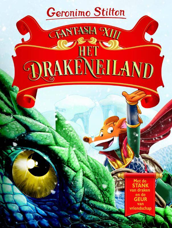 Geronimo Stilton, Fantasia XIII Het Drakeneiland