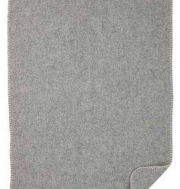 Klippan Klippan Wiegdeken Soft Wool Baby  Eco Wol - Lichtgrijs (61)
