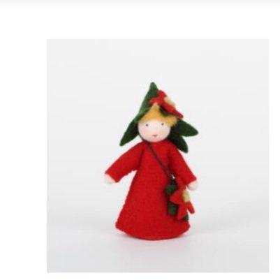Roemeense Vingerpopjes Poinsettia Kerstster nieuw