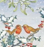 Medici Molly Brett, Robins with mistletoe and holly PCE 148