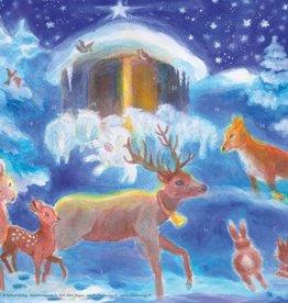 Adventkalender Kerstmis met de dieren A 108 (Schmidt)