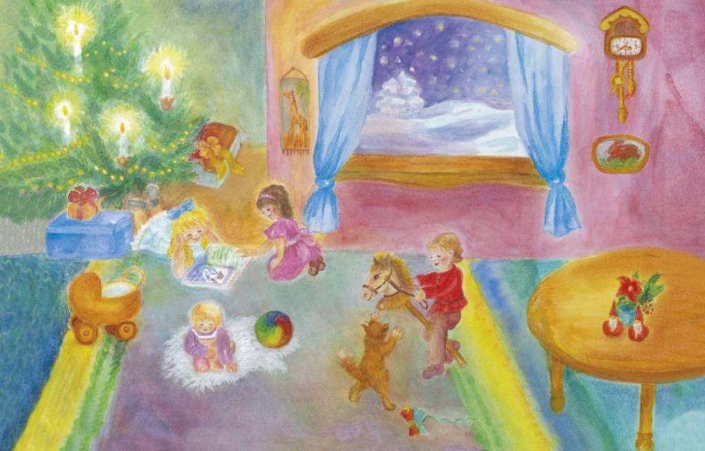 Adventkalender Kerstmis bij ons thuis A 113  (Schmidt)