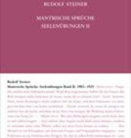 Rudolf Steiner, GA 268 Mantrische Sprüche. Seelenübungen Band II, 1903-1925