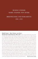 Rudolf Steiner, GA 262 Rudolf Steiner - Marie Steiner- von Sivers: briefwechsel und Dokumente 1901-1925