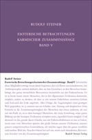 Rudolf Steiner, GA 239 Esoterische Betrachtungen karmischer Zusammenhänge. Fünfter Band