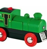 Brio Brio groene batterijlocomotief (33595)