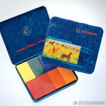 Stockmar Stockmar wasblokjes 8 , 12 of 16 stuks