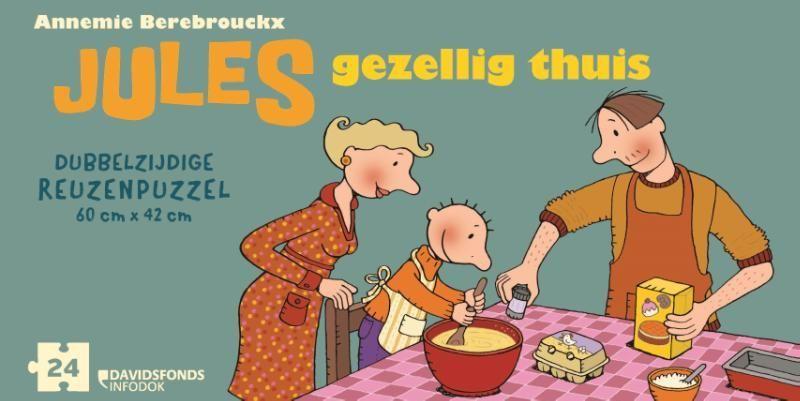 Annemie Berebrouckx, Gezellig thuis Puzzel