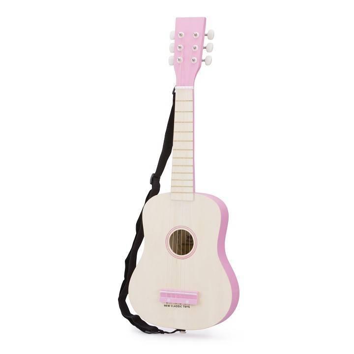 Gitaar de Luxe naturel/pink NCT 10302