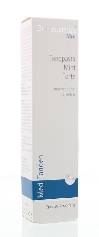 Dr. Hauschka Tandpasta Mint Forte 75 ml
