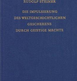 Rudolf Steiner, GA 222 Die Impulsierung des weltgeschichtlichen Geschehens durch geistige Mächte