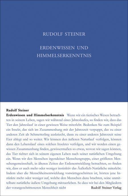 Rudolf Steiner, GA 221 Erdenwissen und Himmelserkenntnis