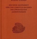 Rudolf Steiner, GA 200 Die neue Geistigkeit und das Christuserlebnis des zwanzigsten Jahrhunderts
