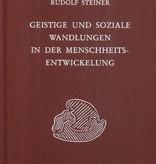Rudolf Steiner, GA 196 Geistige und soziale Wandlungen in der Menschheitsentwicklung