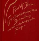 Rudolf Steiner, GA 192 Geisteswissenschaftliche Behandlung sozialer und pädagogischer Fragen