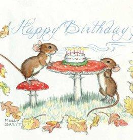 Medici Molly Brett, Happy Birthday mice PCE 211
