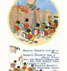 Medici Molly Brett, Humpty Dumpty sat on a wall PCE 230