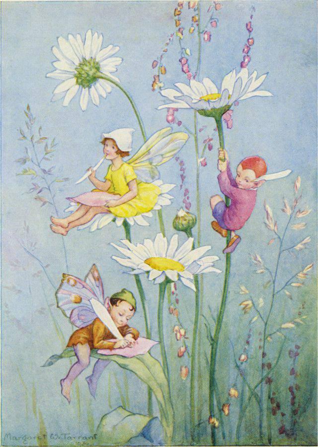 Medici Margaret W. Tarrant, Joan in Flowerland PCE 235