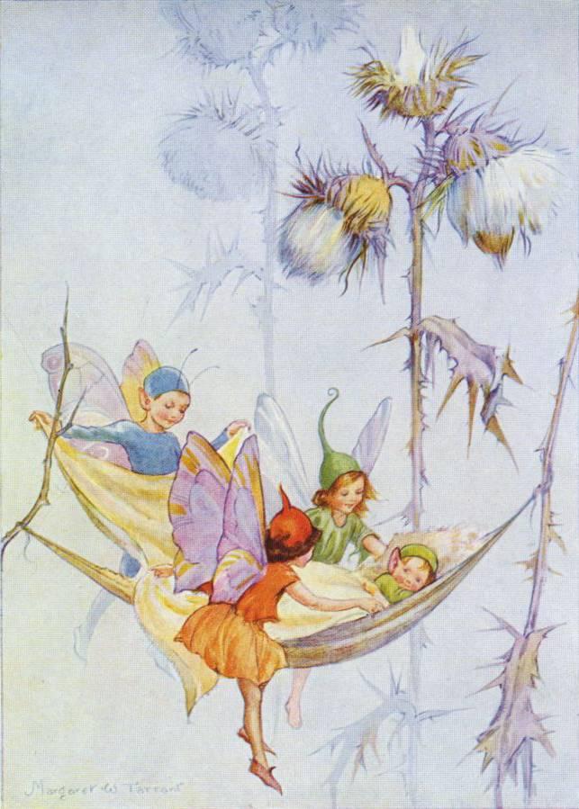 Medici Margaret W. Tarrant, Joan in Flowerland (2) PCE 236