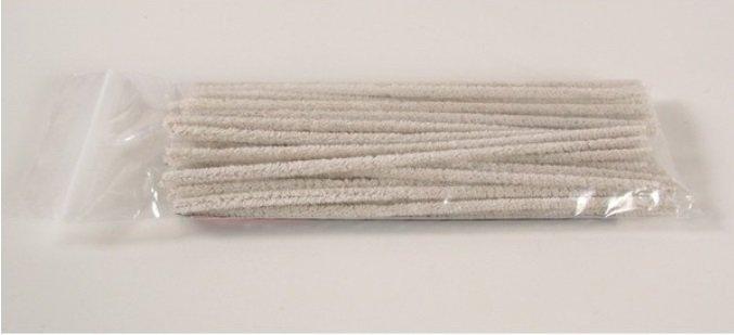 Pijpenragers blank 16 cm, zakje 48 stuks