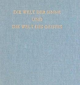 Rudolf Steiner, GA 134 Die Welt der Sinne und die Welt des Geistes