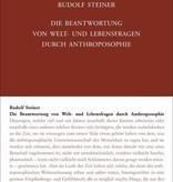 Rudolf Steiner, GA 108 Die Beantwortung von Welt- und Lebensfragen durch Anthroposophie