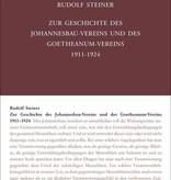 Rudolf Steiner, GA 252 Zur Geschichte des Johannesbau-Vereins und des Goetheanum-Vereins