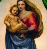 Rafaël, Sixtijnse Madonna detail Raf 0110